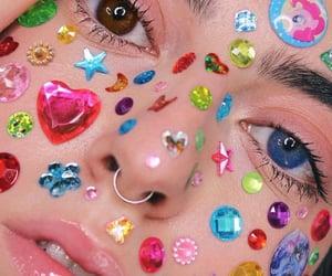 colorful, gems, and kawaii image