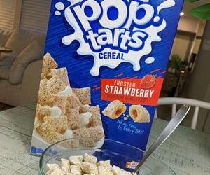 breakfast, food, and pop tart image