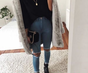 coats, winter look, and girly style image