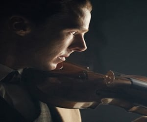 violin sherlock image