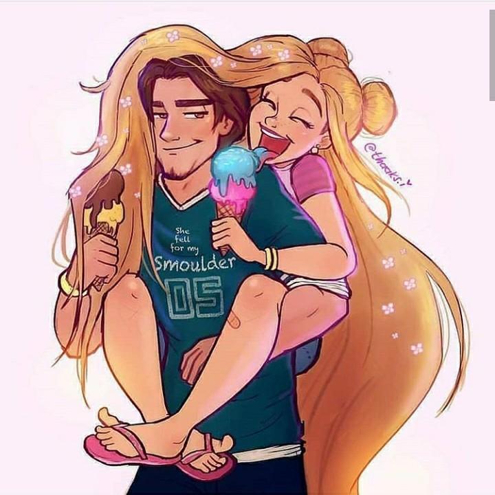 couple, date, and disney princess image
