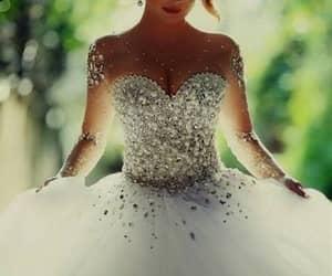 boda, dress, and moda image