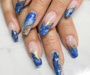 girls, nails, and luxury image