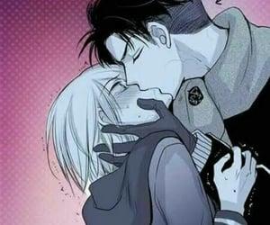 kiss, yurio, and yaoi image