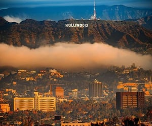 aesthetic, city, and hollywood image
