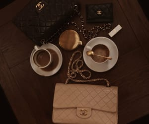 chanel, morning, and coffee time image
