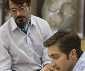 jake gyllenhaal, robert downey jr, and zodiac image