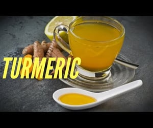 tumeric, video, and natural remedies image