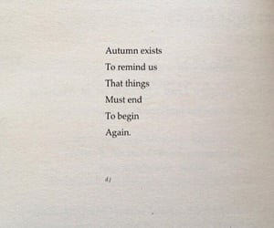 quotes, autumn, and poem image