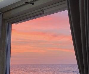 alternative, pink, and sea image