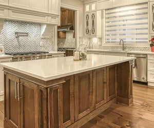cabinets, home, and kitchen image