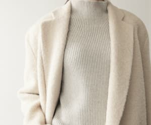 beige, coat, and style image