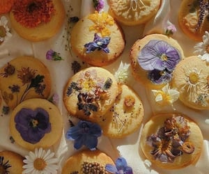 flowers, Cookies, and food image