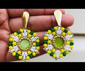 argentina, earrings, and ecuador image