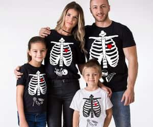 etsy, maternity, and skeleton shirt image