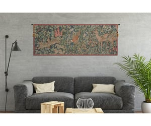 tapestry, wall art, and french tapestry image