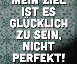 deutsch, perfekt, and glücklich image