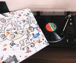 led zeppelin, vintage, and hits image