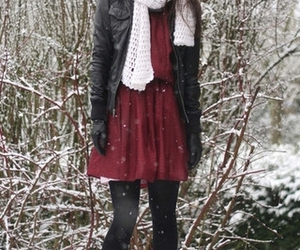 blog de betty, leather, and dress image