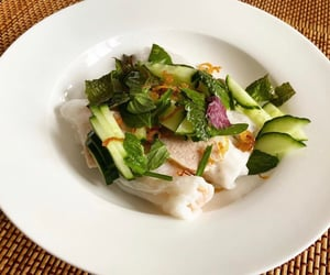 delicious, salad, and vegetables image