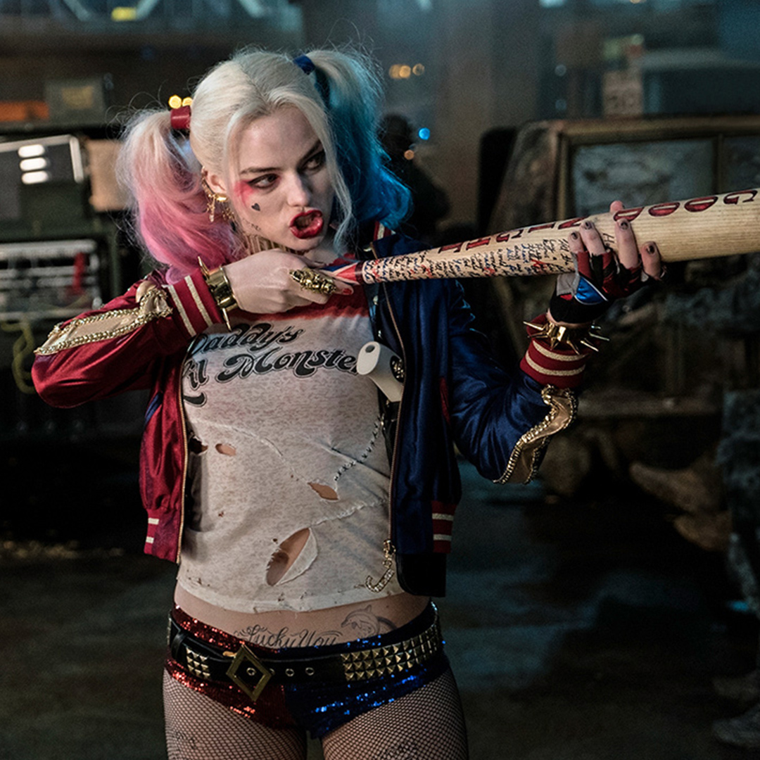 article, fishnets, and harley quinn image