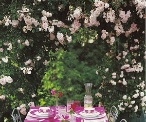spring, table, and dinning image