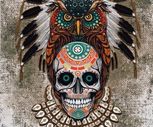 art, cool, and day of the dead image