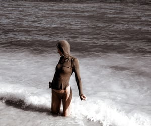 beach, fashion, and hoody image