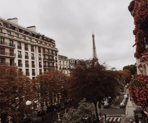 city, paris, and autumn image