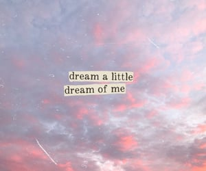 clouds, pink, and quotes image