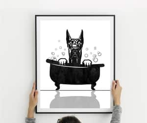 clawfoot tub, bath decor, and gift for him image