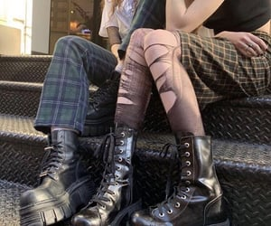 alternative, boots, and grunge image