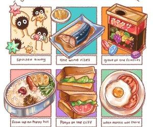 food, ghibli, and yummy image