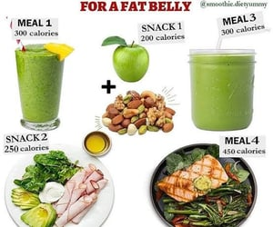 diet, gym, and smoothies image