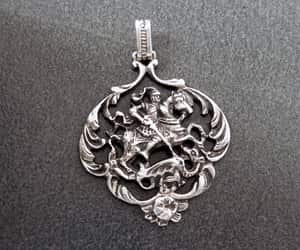 etsy, pendants, and mens jewelry image