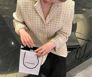 shopping, life goals, and chanel image