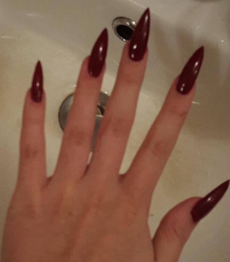 fashion, grunge, and nails image