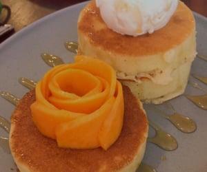 cafe, dessert, and flower image