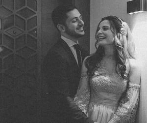 black and white, couple couples, and حب عشق غرام image
