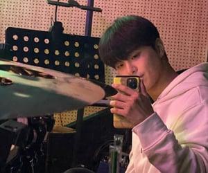 drummer, hajoon, and idol image