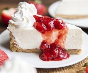 cake, cream, and yum image