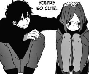 love, cute, and manga image