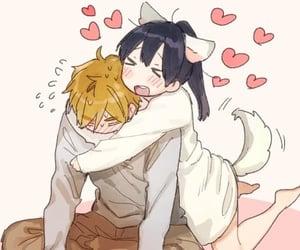 couple, kawaii, and anime image