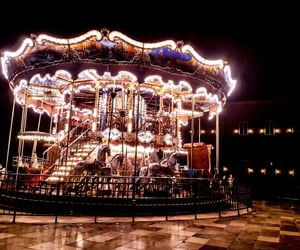carousel, photography, and city image