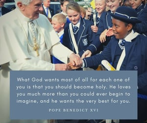 benedict, benedikt, and joseph ratzinger image