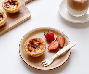 asian, korean, and pastry image