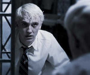 harry potter, draco malfoy, and hp image