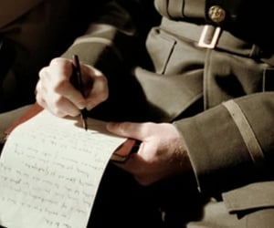 letters, man, and soldier image