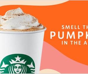 coffee, psl, and drinks image