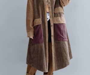 etsy, autumn coat, and plus size coat image